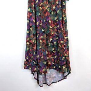 LuLaRoe Dresses - LuLaRoe leaf printed Carly dress